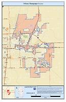 City of Urbana/Champaign County Enterprise Zone Map