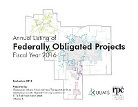 Federally Obligated Projects: FY2016