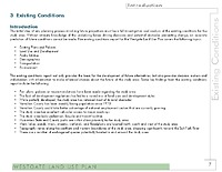 Existing Conditions Report