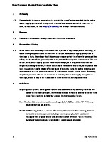 Model Water Use Restriction Ordinance – public water supply by Village