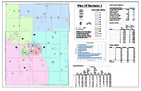 Recommended Plan Maps (1FRev1, 3DRev1, NAACP B) as submitted by Redistricting Commission
