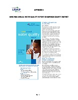 Volume 3, Appendix 4: IAWC 2006 Annual Water Quality Report