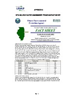 Volume 3, Appendix 5: Source Water Assessment Program Fact Sheet